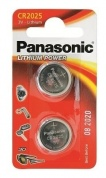Батарейка Panasonic, LITHIUM Power, CR-2025EL/2B, 3V (блистер - 2 шт)